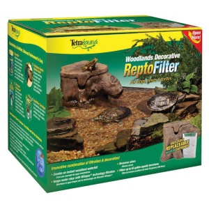 Tetrafauna Woodlands Decorative ReptoFilter: 90 GPH - Tanks up to 55 G