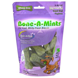 N-Bone Bone-A-Mints - Small: 10 Pack #621635 - Dental Dog Treats Best Price