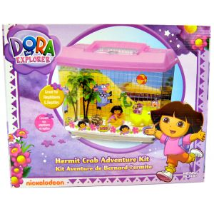Dora the Explorer Dora Hermit Crab Adventure Kit: 12 x 6.5 x 10 #DRHCK1 - Reptile Starter Kits
