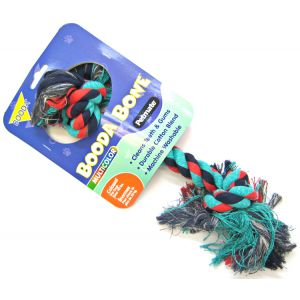 Booda 2 knot Colossal Rope Bone - Multi-Colored: X-X-Large