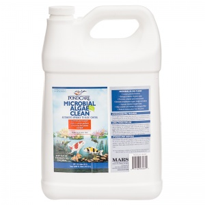 PondCare Microbial Algae Clean: 1 Gallon - (Treats 38 400 Gallons) #269C - Pond Algae Control Best Price