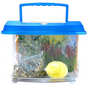 Penn Plax Hermit Crab Home Kit: Hermit Crab Home Kit - (1.25 Gallons) #HC25 - Reptile Starter Kits Best Price