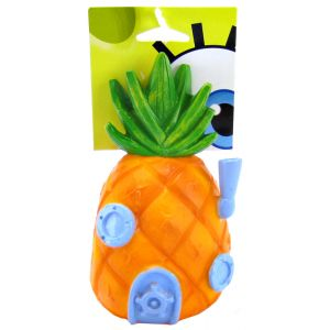 Spongebob Pineapple Vinyl & Rope Dog Toy: 6.5