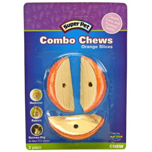 Super Pet Combo Chews - Orange Slices - Small Pet Chew Treats Best Price