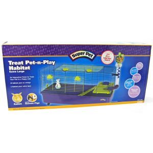 Super Pet Pet &#039;N Play Habitat: X-Large - (45 x 17 x 32) #100504150 - Small Pet Habitats Best Price