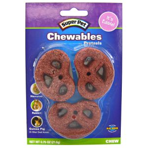 Super Pet Chewables - Pretzels: 3 Pack #100504153 - Small Pet Chew Treats Best Price