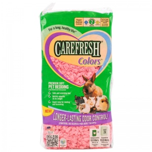 CareFresh Colors Pet Bedding - Pink: 10 Liters Pink #118221 - Paper Pet Bedding Best Price