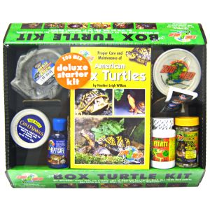 Zoo Med Deluxe Box Turtle Starter Kit - Reptile Starter Kits Best Price