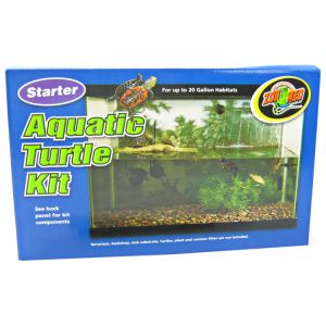 Zoo Med Starter Aquatic Turtle Kit #STK-1 - Reptile Starter Kits Best Price