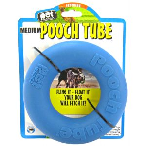 Pet Buddies Pooch Tube Toy: Medium #PB1006 - Toss and Fetch Dog Toys Best Price
