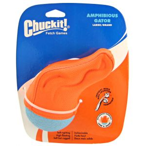 Chuckit Amphibious Gator Water Toy: Large