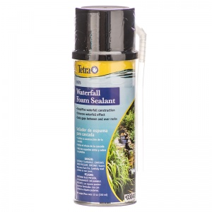 Tetra Waterfall Foam Sealant - Black: 12 oz