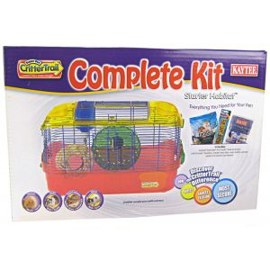 Super Pet Crittertrail Starter Habitat Complete Kit - Small Pet Starter Kits Best Price