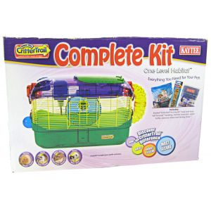 Super Pet Crittertrail One Level Habitat #100504503 - Small Pet Starter Kits Best Price