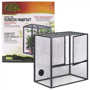 Zilla Fresh Air Screen Habitats - Reptile Cages and Terrariums Best Price