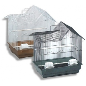 Blue Ribbon House-Style Bird Cage - 2 Pack: 2 Pack - (14 x 18 x 21) #1418-2VP - Bird Cages Best Price