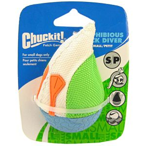 Chuckit Amphibious Duck Diver Water Toy: Small #187101 - Water Dog Toys Best Price