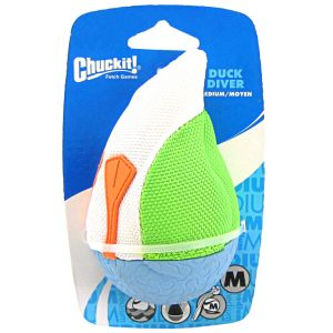 Chuckit Amphibious Duck Diver Water Toy: Medium