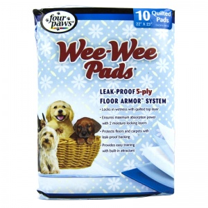 Four Paws Wee Wee Pads - Puppy - Dog Housetraining Aids Best Price