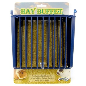 Super Pet Hay Buffet Feeder with Snap-Lock Lid #100079400 - Small Pet Hay Feeders Best Price