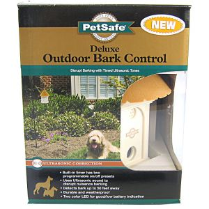 PetSafe Deluxe Outdoor Bark Control Collar - Dog Bark Control Trainers Best Price