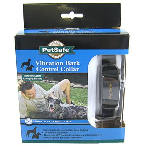 PetSafe Vibration Bark Control Collar - Black - Dog Bark Control Trainers Best Price