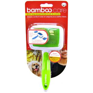 Bamboo Small Undercoat and Dematting Rake #810181 - Dog Mat Removers and Rakes Best Price