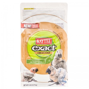 Exact High Fat Hand Feeding Baby Bird Food: 5 lbs #100504659 - Bird Supplements Best Price