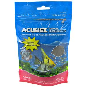 Acurel Economy Activated Filter Carbon Pellets: 8 oz #2201 - Aquarium Filter Carbon Best Price