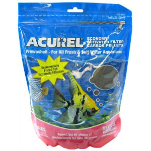 Acurel Economy Activated Filter Carbon Pellets: 3 lbs #2203 - Aquarium Filter Carbon Best Price
