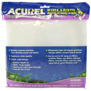 Acurel Waste and Debris Reducing Polyfiber Media Pad: 10 x 18 #2500 - Aquarium Filter Pads Best Price