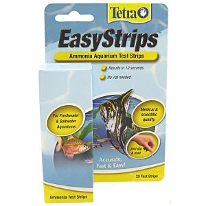 Tetra Easystrips Ammonia Test Strips: 25 Pack #19540 - Aquarium Saltwater Test Kits Best Price