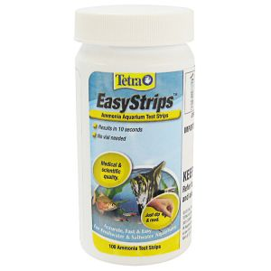Tetra Easystrips Ammonia Test Strips: 100 Pack #19541 - Aquarium Saltwater Test Kits Best Price