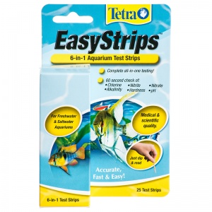 Tetra Easystrips 6 in 1 Test Strips: 25 Pack #19542 - Aquarium Saltwater Test Kits Best Price