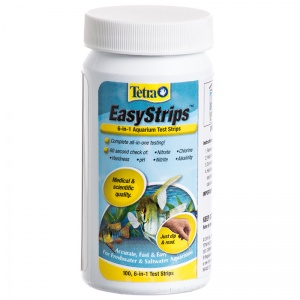 Tetra Easystrips 6 in 1 Test Strips: 100 Pack #19543 - Aquarium Saltwater Test Kits Best Price