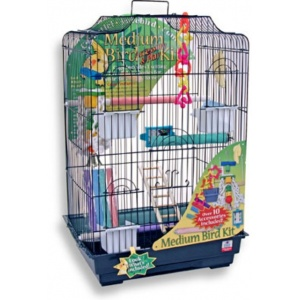 Blue Ribbon Medium Bird Cage Kit - Bird Cages Best Price