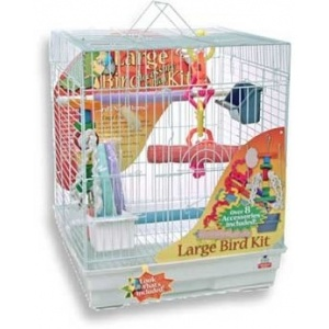 Blue Ribbon Large Bird Cage Kit - Bird Cages Best Price