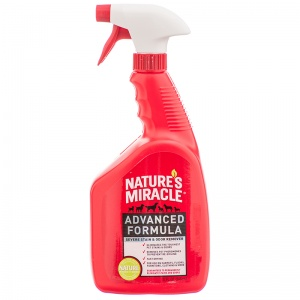 Natures Miracle Advanced Stain and Odor Remover: 32 oz Sprayer #P-5751 - Dog Stain and Odor Control Best Price