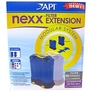 API Nexx Aquarium Filter: Nexx Filter Extension - (Adds an extra 55 Ga