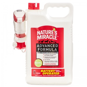 Natures Miracle Advanced Stain and Odor Remover: 1.5 Gallon Power Sprayer #P-5787 - Dog Stain and Odor Control Best Price