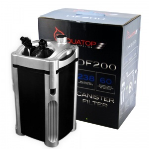 Aquatop Canister Filter DF Series: DF200 Canister Filter - 216 GPH - (
