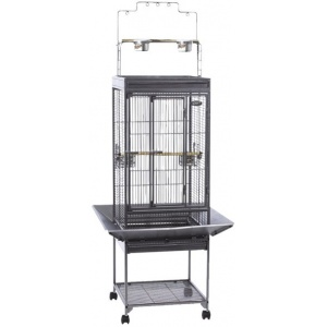 Super Pet EZ Care Playtop Cage - Small Bird: Small Bird - (27.25 L x 27.25 W x 49.25H) #100079573 - Bird Cages Best Price