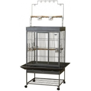 Super Pet EZ Care Playtop Cage - Medium Bird: Medium Bird - (40.25L x 32.75W x 80H) #100079575 - Bird Cages Best Price