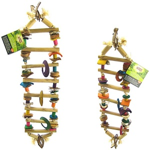 Living World Natures Treasure Bamboo Ladder - Bird Toys Best Price