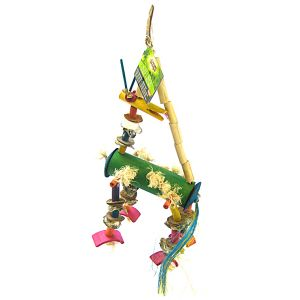 Living World Bamboo Dragon: Medium/Large Hookbills #81300 - Bird Toys Best Price