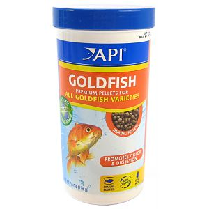 Aquarium Pharmaceuticals Goldfish Premium Pellet Food: 7 oz #833C - Goldfish Food Best Price