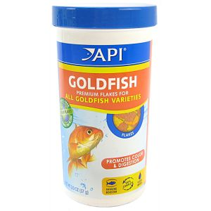 Aquarium Pharmaceuticals Goldfish Premium Flake Food: 2 oz #834C - Goldfish Food Best Price