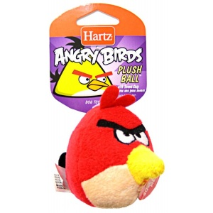 Hartz Angry Birds Plush Ball with Sound Chip