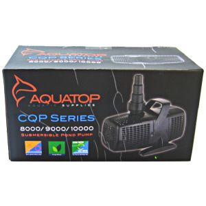 Aquatop Submerisble Pond Pump: CQP8000 - 2113 GPH - 70 Watt