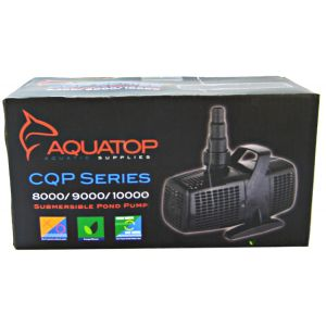 Aquatop Submerisble Pond Pump: CQP10000 - 2641 GPH - 155 Watt